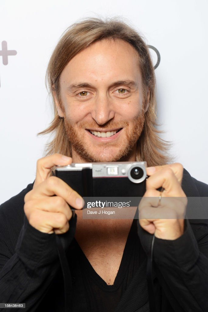 David Guetta attends the I.AM+ foto.sosho Launch Party in association with Cirque Du Soir at One Marylebone on December 16, 2012 in London, England.
