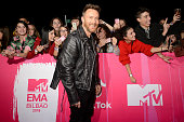 bilbao spain david guetta attends mtv
