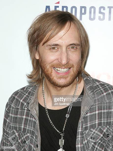 David Guetta attends Z100's Jingle Ball 2011 presented by Aeropostale at Madison Square Garden on December 9 2011 in New York City