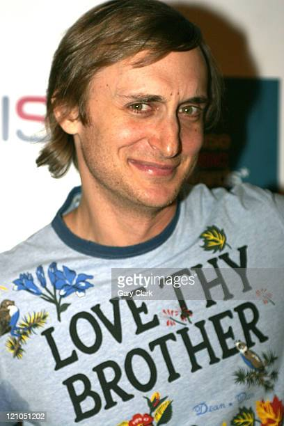 David Guetta during The 2005 House Music Awards at Hammersmith Palais in London Great Britain