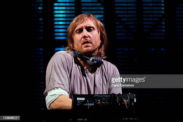 David Guetta performs during 2011 Electric Zoo at Randall's Island Park on September 3 2011 in New York City