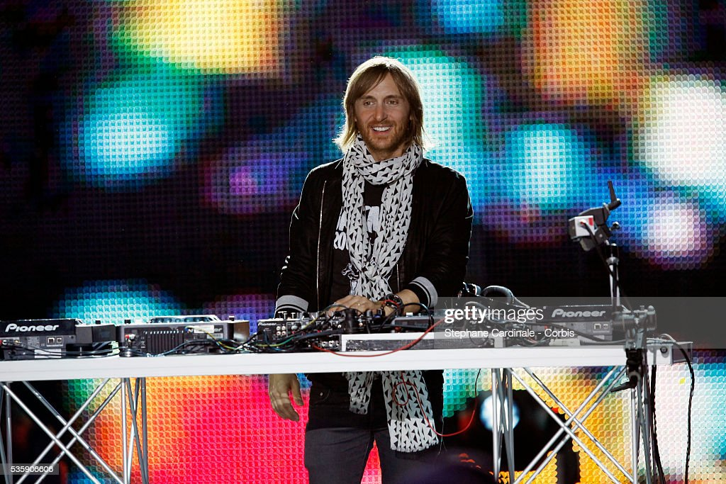 David Guetta performs during the 'World Music Awards 2010 - show' at the Sporting Club on May 18, 2010 in Monte Carlo, Monaco.