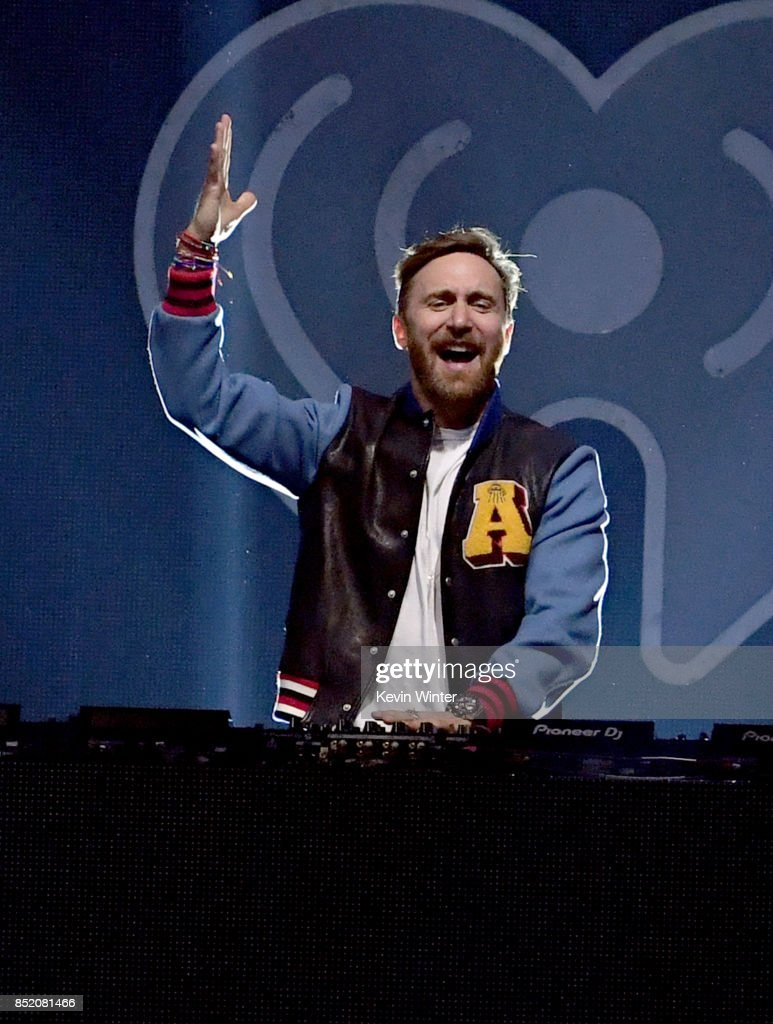 David Guetta performs onstage during the 2017 iHeartRadio Music Festival at T-Mobile Arena on September 22, 2017 in Las Vegas, Nevada.