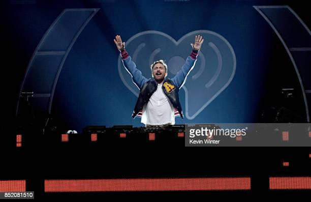 David Guetta performs onstage during the 2017 iHeartRadio Music Festival at TMobile Arena on September 22 2017 in Las Vegas Nevada