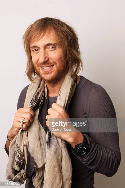 David Guetta poses for a portrait to promote his new album 'Nothing But the Beat' on May 7 2011 in London England