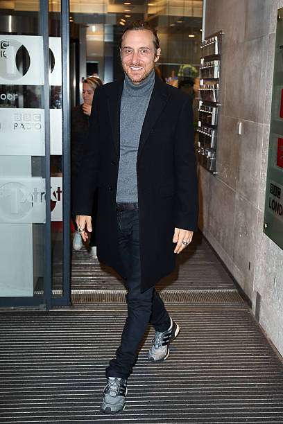 28682278a35f97 David Guetta seen arriving at BBC Radio One on December 7, 2015 in London,