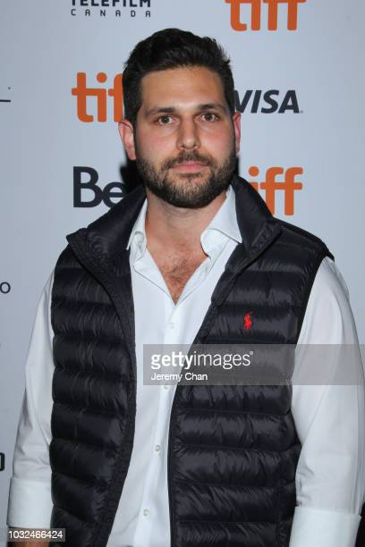 David Guglielmo attends the 'The Standoff At Sparrow Creek' premiere during 2018 Toronto International Film Festival at Ryerson Theatre on September...