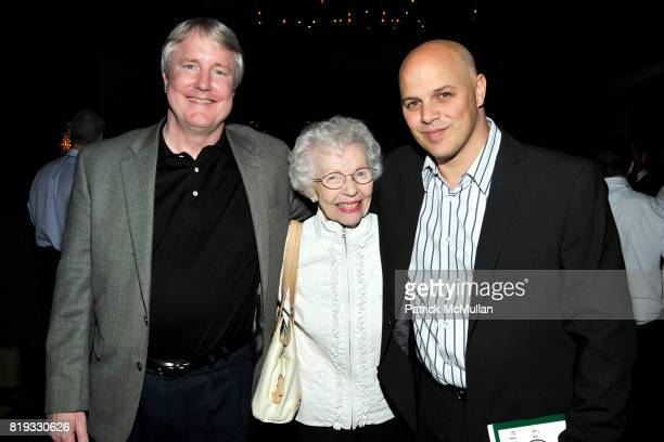 David Gundlach Margie Swift and Joey Rappa attend WATER WALL Restaurant Hosts Tribeca Film Festival Screening of GET LOW at Water Wall on April 27...