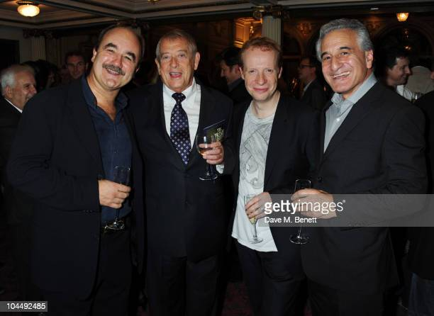 David Haig Derek Fowlds Jonathan Slinger and Henry Goodman attend the press night of 'Yes Prime Minister' at The Gielgud Theatre on September 27 2010...