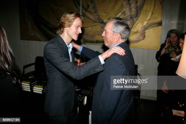 "David Hallberg and Alex C. Ewing attend AMERICAN BALLET THEATRE et al celebrates the publication of ""Bravura! Lucia Chase and the American Ballet..."