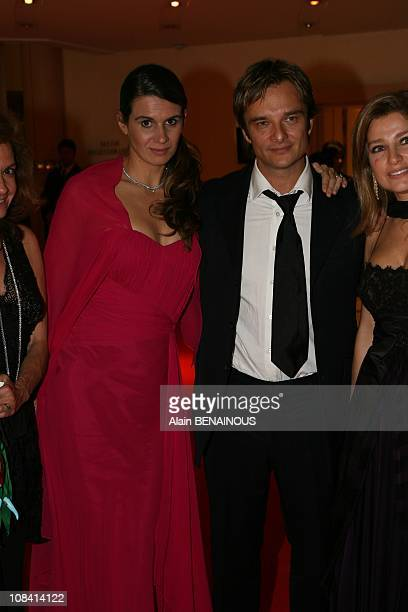 David halliday and his wife Alexandra in Monte Carlo France on October 10th 2007