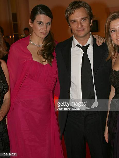 David Halliday and his wife Alexandra Pastor in Monte Carlo France on October 10th 2007