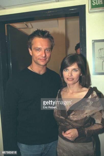 David Hallyday and Diane Tell