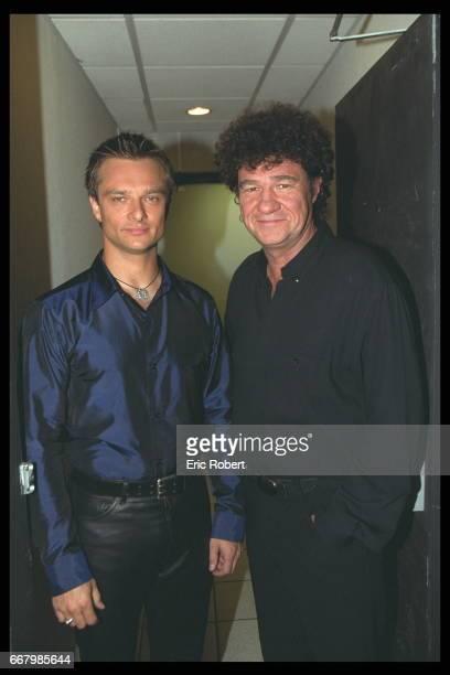 David Hallyday and Robert Charlebois