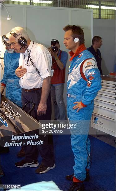 David Hallyday in Le Mans, France on June 15, 2003.