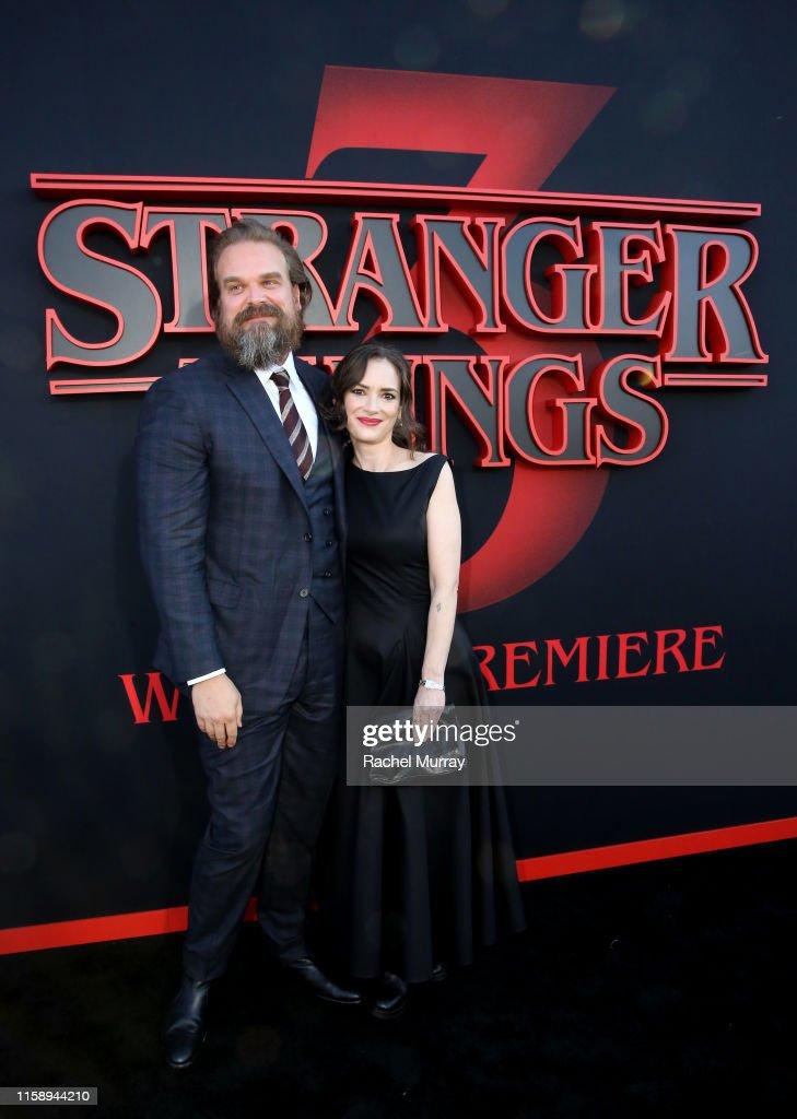 """""""Stranger Things"""" Season 3 World Premiere : ニュース写真"""