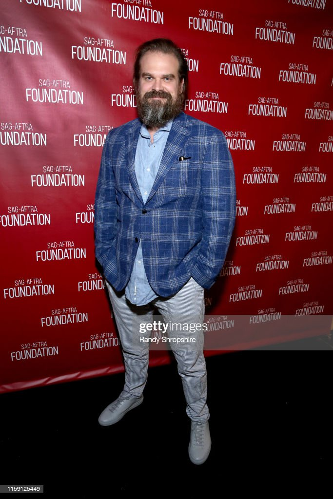 "SAG-AFTRA Foundation Presents ""Stranger Things 3"" With David Harbour : ニュース写真"