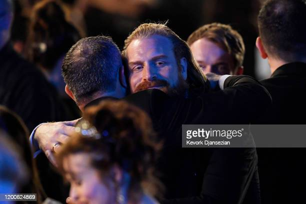 David Harbour attends the 26th Annual Screen ActorsGuild Awards at The Shrine Auditorium on January 19 2020 in Los Angeles California 721359