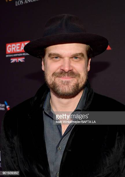 David Harbour attends The BAFTA Los Angeles Tea Party at Four Seasons Hotel Los Angeles at Beverly Hills on January 6 2018 in Los Angeles California
