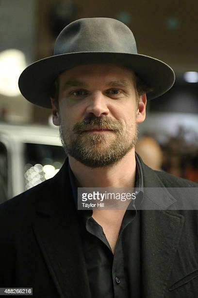 David Harbour attends the 'Being Charlie' premiere at Elgin Theatre during the 2015 Toronto International Film Festival on September 14 2015 in...