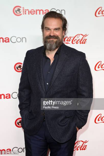 David Harbour during the CinemaCon Big Screen Achievement Awards at Omnia Nightclub at Caesars Palace CinemaCon is the official convention of the...