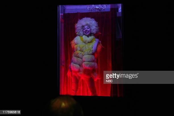 "David Harbour"" Episode 1770 -- Pictured: Heidi Gardner as Big Bird during the ""Joker"" sketch on Saturday, October 12, 2019 --"