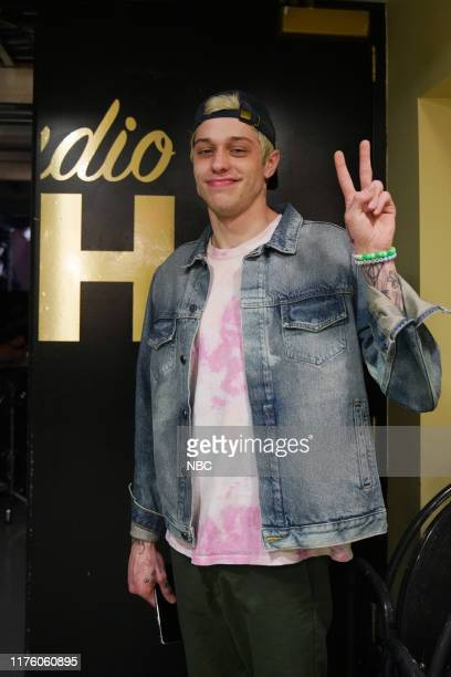 LIVE David Harbour Episode 1770 Pictured Pete Davidson backstage in Studio 8H on Saturday October 12 2019