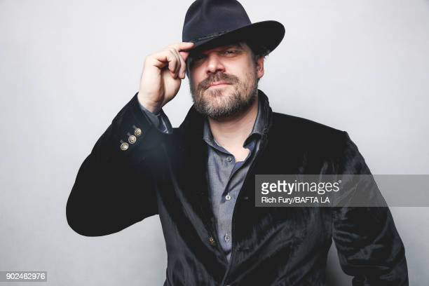 David Harbour poses for a portrait at the BAFTA Los Angeles Tea Party on January 6 2018 in Beverly Hills California