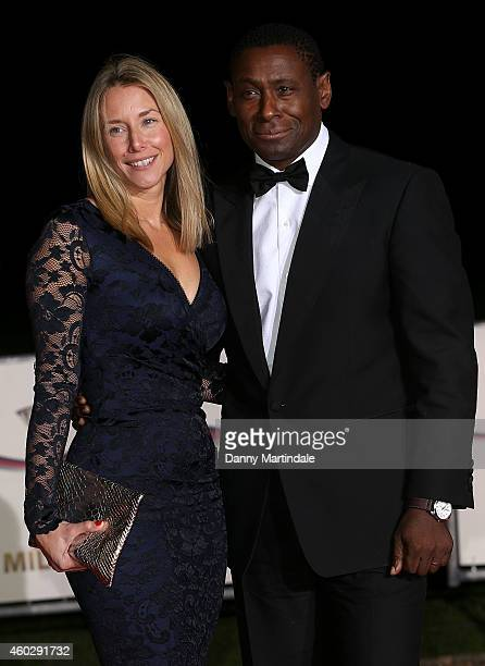 David Harewood and Kirsty Handy attends A Night Of Heroes The Sun Military Awards at National Maritime Museum on December 10 2014 in London England
