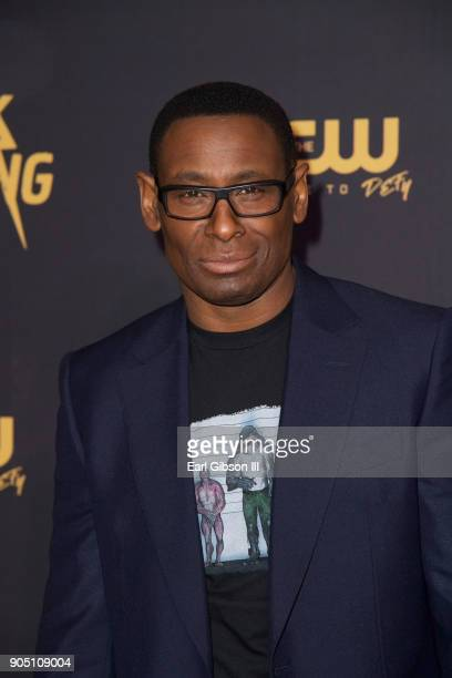 David Harewood attends the 'Black Lightning' World Premiere at National Museum Of African American History Culture on January 13 2018 in Washington DC