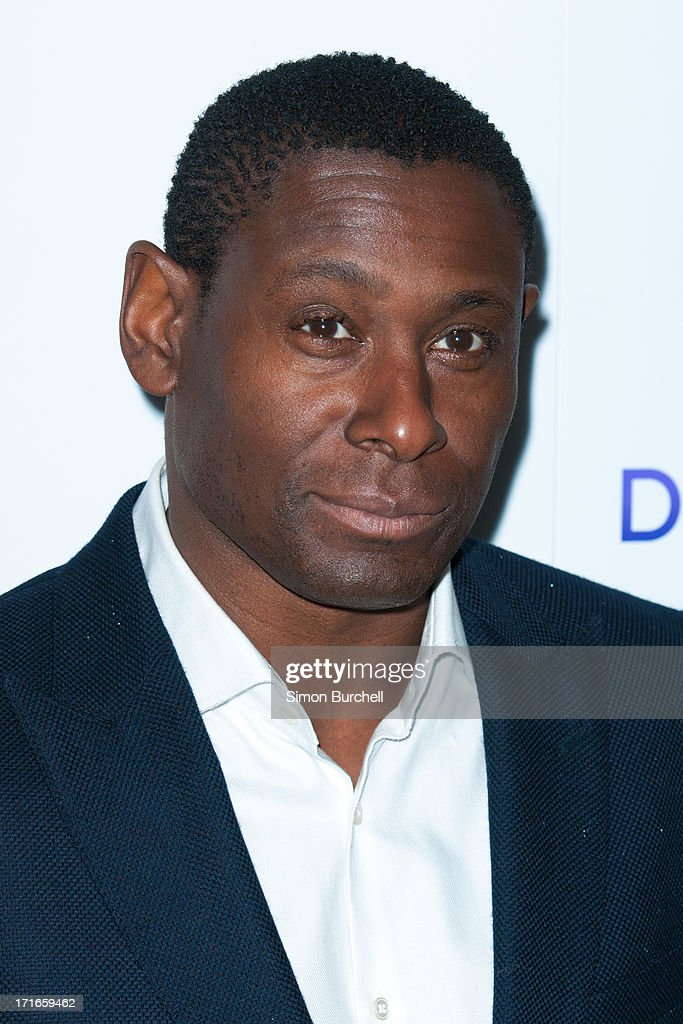 David Harewood attends the launch of the new UKTV channel 'Drama' on June 27, 2013 in London, England.