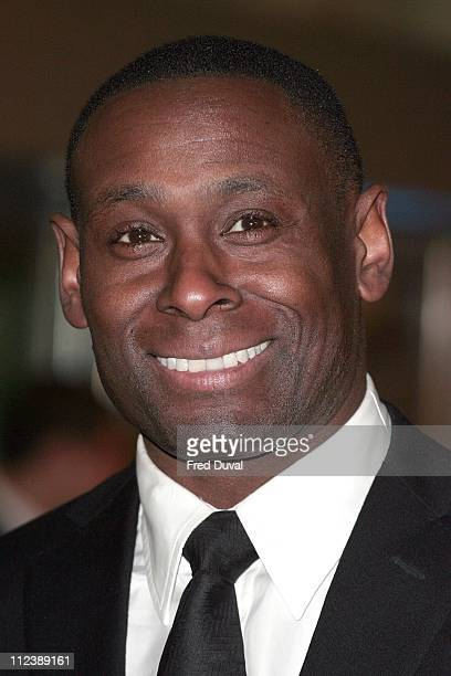 """David Harewood during """"Blood Diamond"""" London Premiere - Arrivals at Odeon Leicester Square in London, Great Britain."""