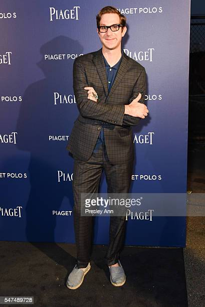 David Hart attends Piaget Launches a New Game-Changing Timepiece at the Duggal Greenhouse on July 14, 2016 in New York City.