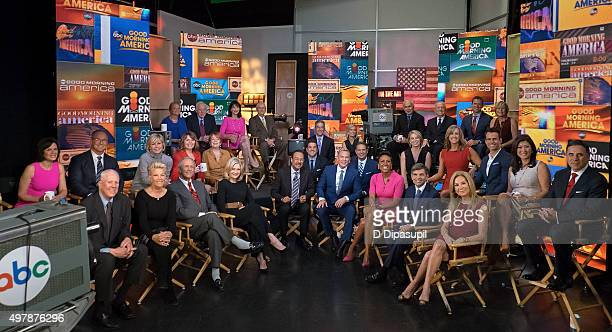 David Hartman Joan Lunden Charles Gibson Diane Sawyer Spencer Christian Sam Champion Robin Roberts George Stephanopoulos Kathy Lee Gifford and cast...
