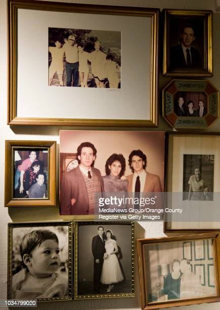 David Hartman's family photos hang on the wall of the Laguna Woods home he shared with his first wife Phyllis After she died in 2005 Hartman married...