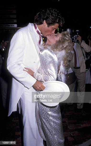 David Hasselhoff and Catherine Hickland during David Hasselhoff Catherine Hickland Wedding at Wompoppers Restaurant in Universal City California...