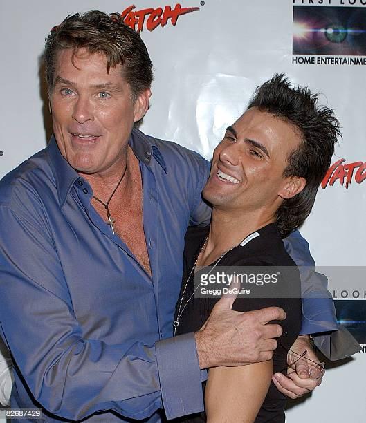 David Hasselhoff and Jeremy Jackson