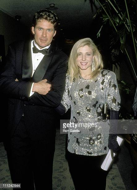 David Hasselhoff and Wife Pamela Bach during 7th Annual American Cinema Awards at Beverly Hilton Hotel in Beverly Hills California United States