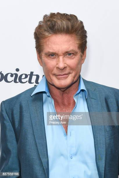 David Hasselhoff attends Extraordinary Stan Lee Arrivals at Saban Theatre on August 22 2017 in Beverly Hills California