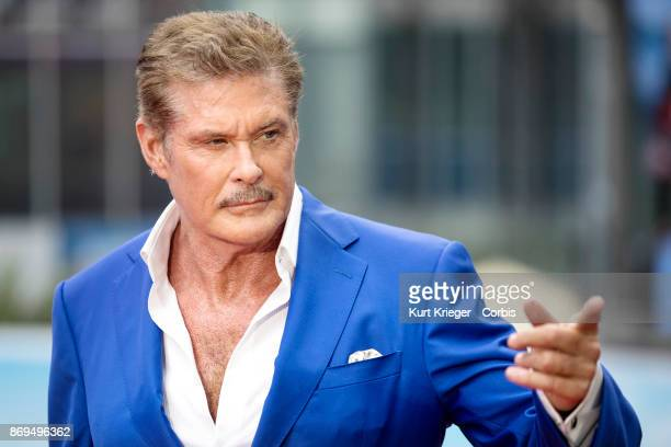 David Hasselhoff attends the European premiere of 'Baywatch' at Cinestar on May 30 2017 in Berlin Germany