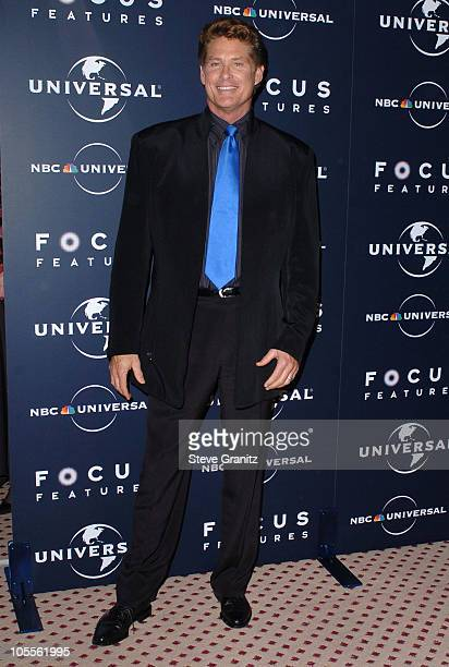 David Hasselhoff during 62nd Annual Golden Globe Awards NBC Universal And Focus Features After Party in Beverly Hills California United States