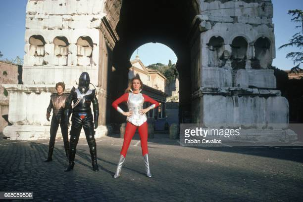 David Hasselhoff Hamilton Camp and Caroline Munro appear in Starcrash by director Luigi Cozzi The Italian film released in 1979 is also known as The...