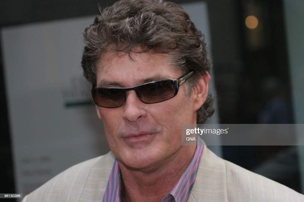 David Hasselhoff, judge from the new NBC talent show 'America's Got Talent' appears on the NBC 'Today Show' at Rockefeller Plaza in New York City on June 19, 2006. Photos by GNA