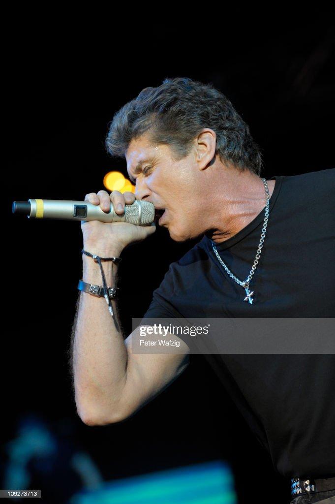 David Hasselhoff In Concert : Nachrichtenfoto
