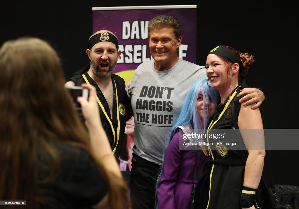 Comic Con Scotland : News Photo