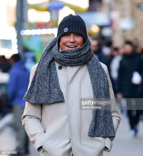 David Hasselhoff seen on the streets of SoHo on December 7 2017 in New York City