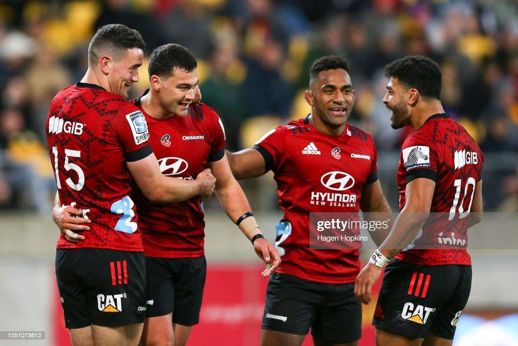 Super Rugby Aotearoa Rd 2 - Hurricanes v Crusaders : News Photo