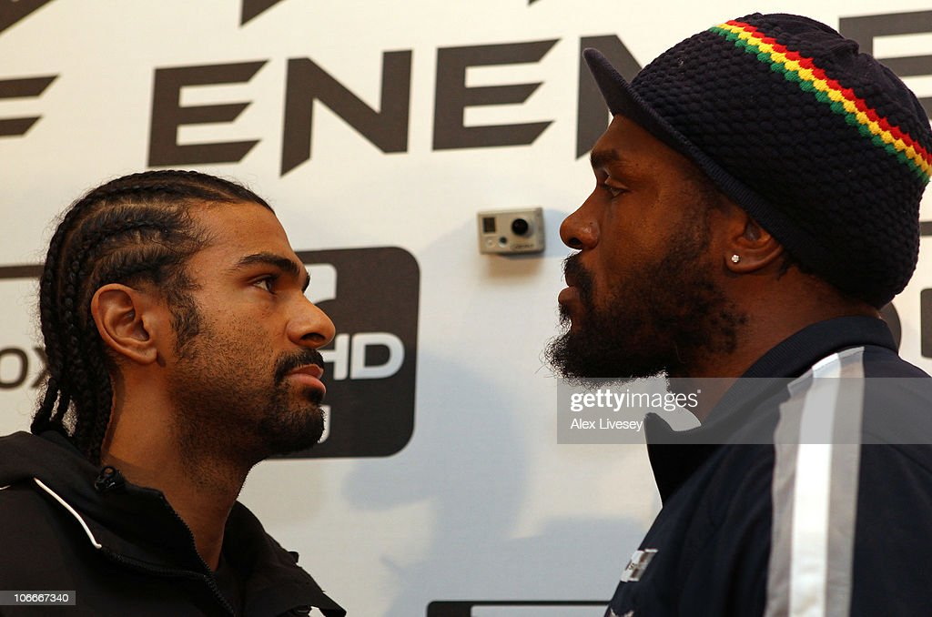 David Haye v Audley Harrison Press Conference