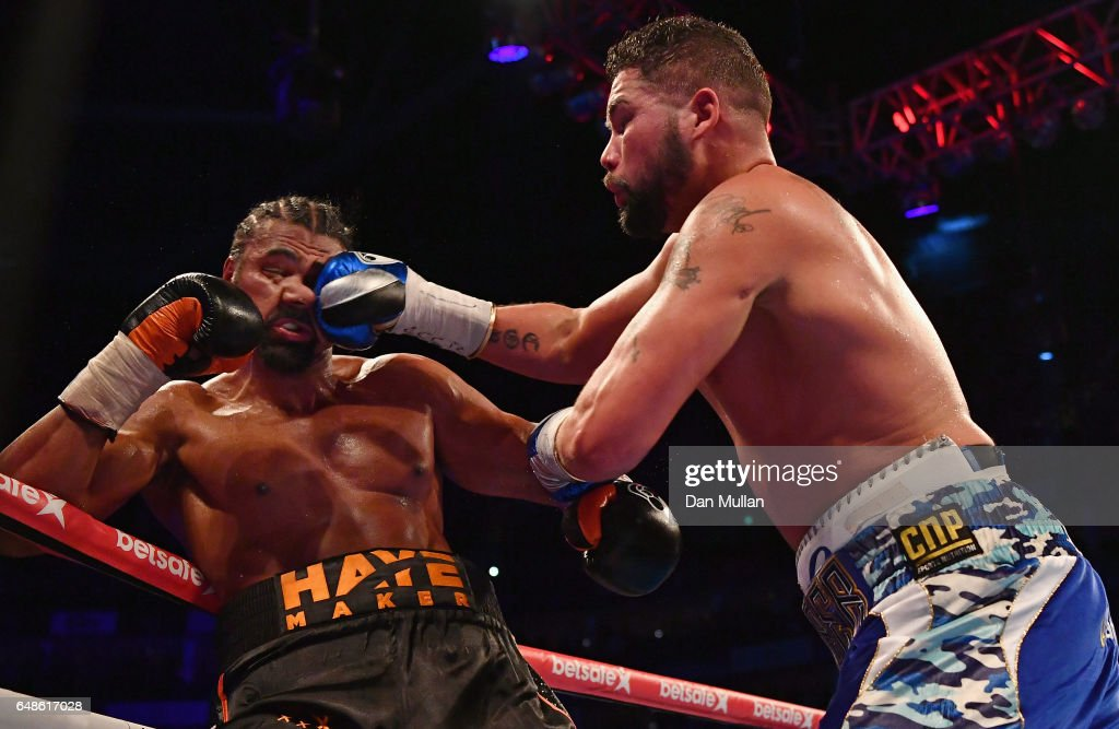 David Haye vs Tony Bellew - Heavyweight Fight : News Photo