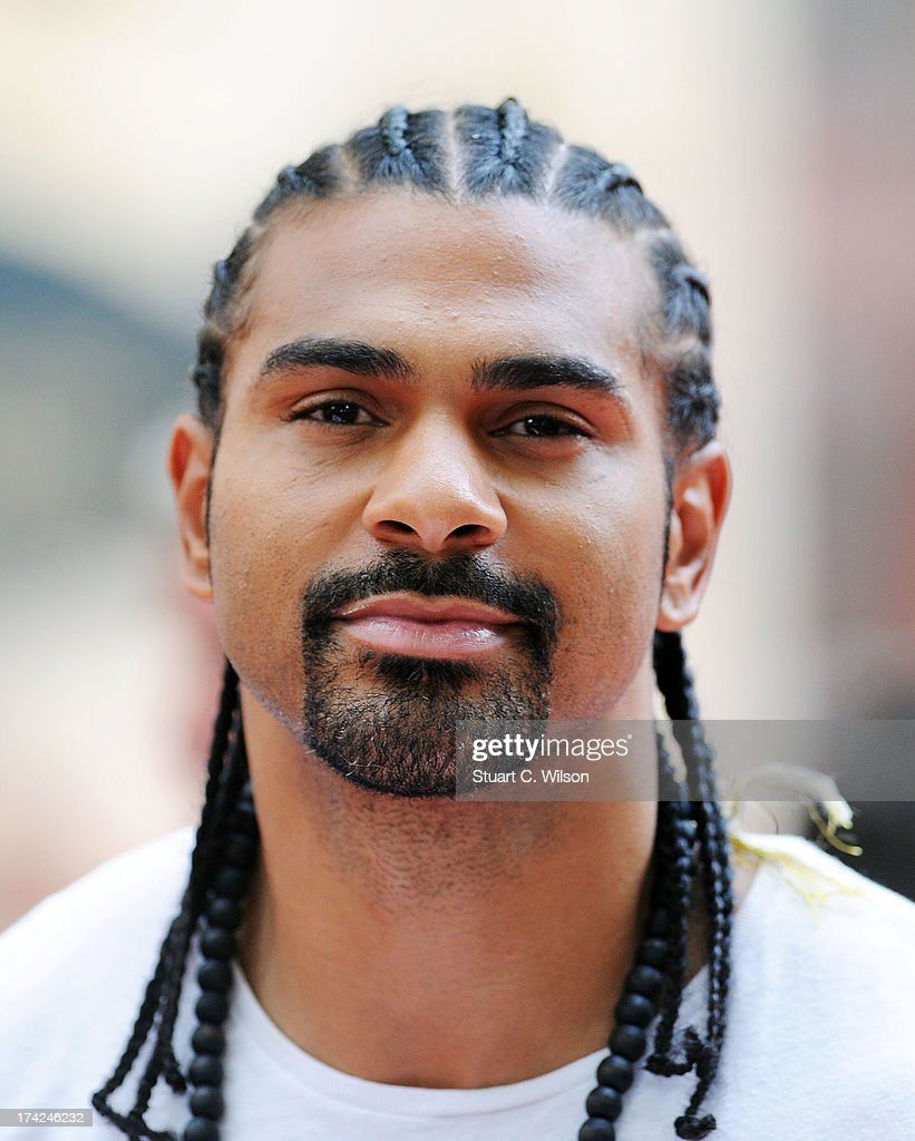 David Haye attends the European Premiere of 'Red 2' at Empire Leicester Square on July 22, 2013 in London, England.